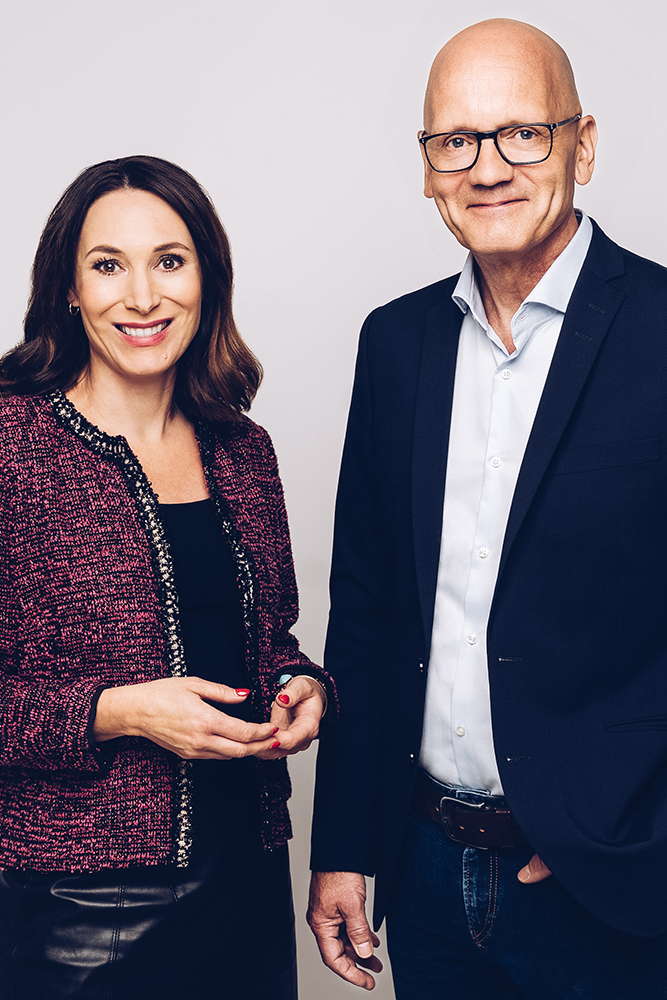 Tina und Rüdiger Straub